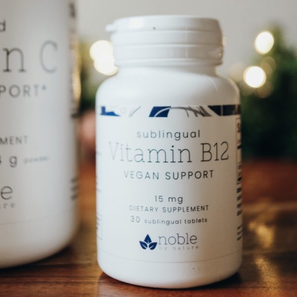 Vitamin B12 Tabs by Noble by Nature