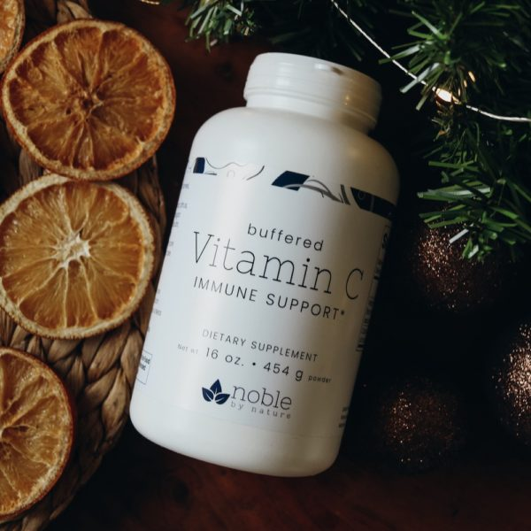 Buffered Vitamin C Powder by Noble by Nature