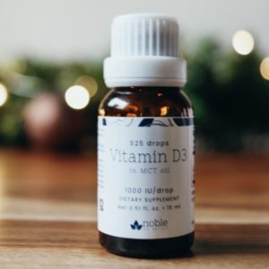 Vitamin D3 Drops by Noble by Nature